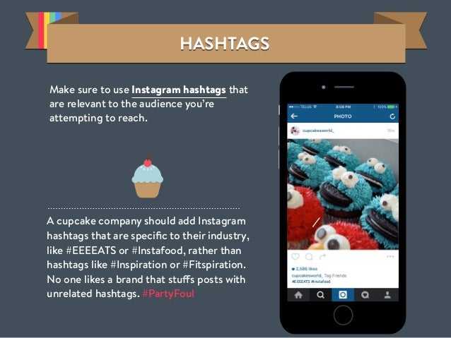 HASHTAGSHASHTAGSHASHTAGSHASHTAGS Make sure to use Instagram hashtags that are relevant to the audience you're attempting t...