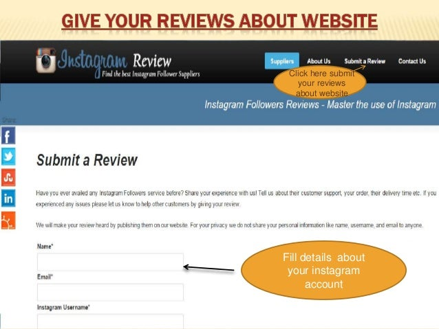 buy instagram followers review