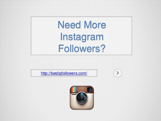 Instagram followers script