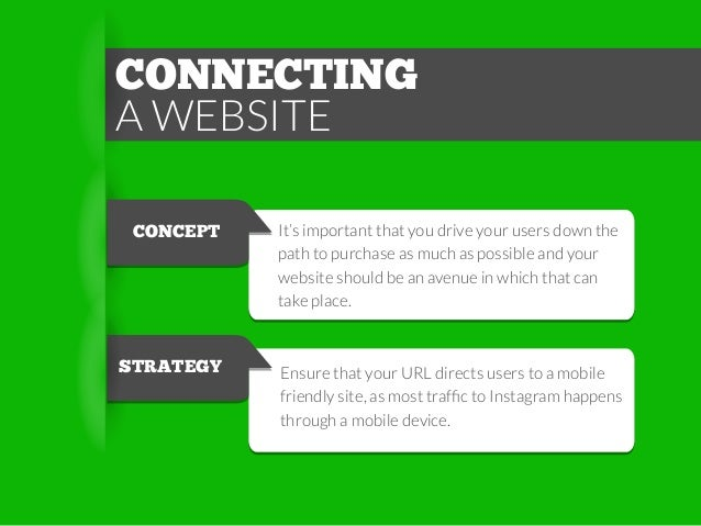CONNECTING A WEBSITE CONCEPT  It's important that you drive your users down the path to purchase as much as possible and y...