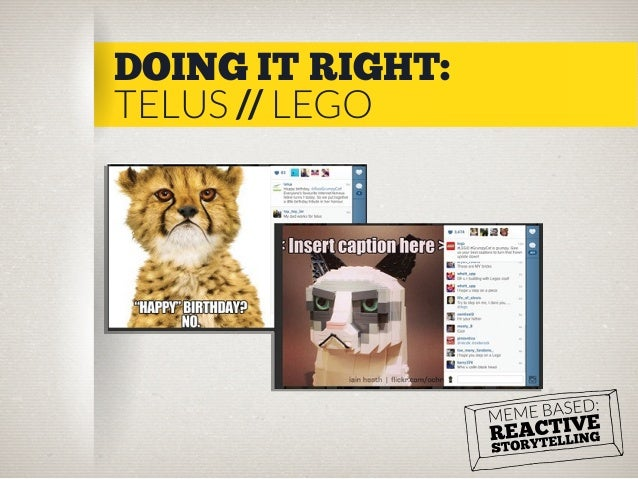 DOING IT RIGHT: TELUS // LEGO