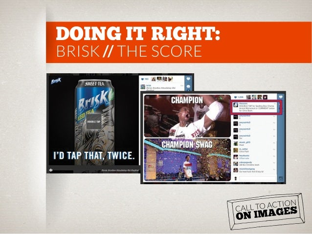 DOING IT RIGHT: BRISK // THE SCORE