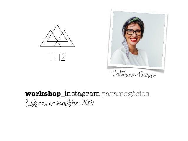 Instagram para negocios th2 Slide 2