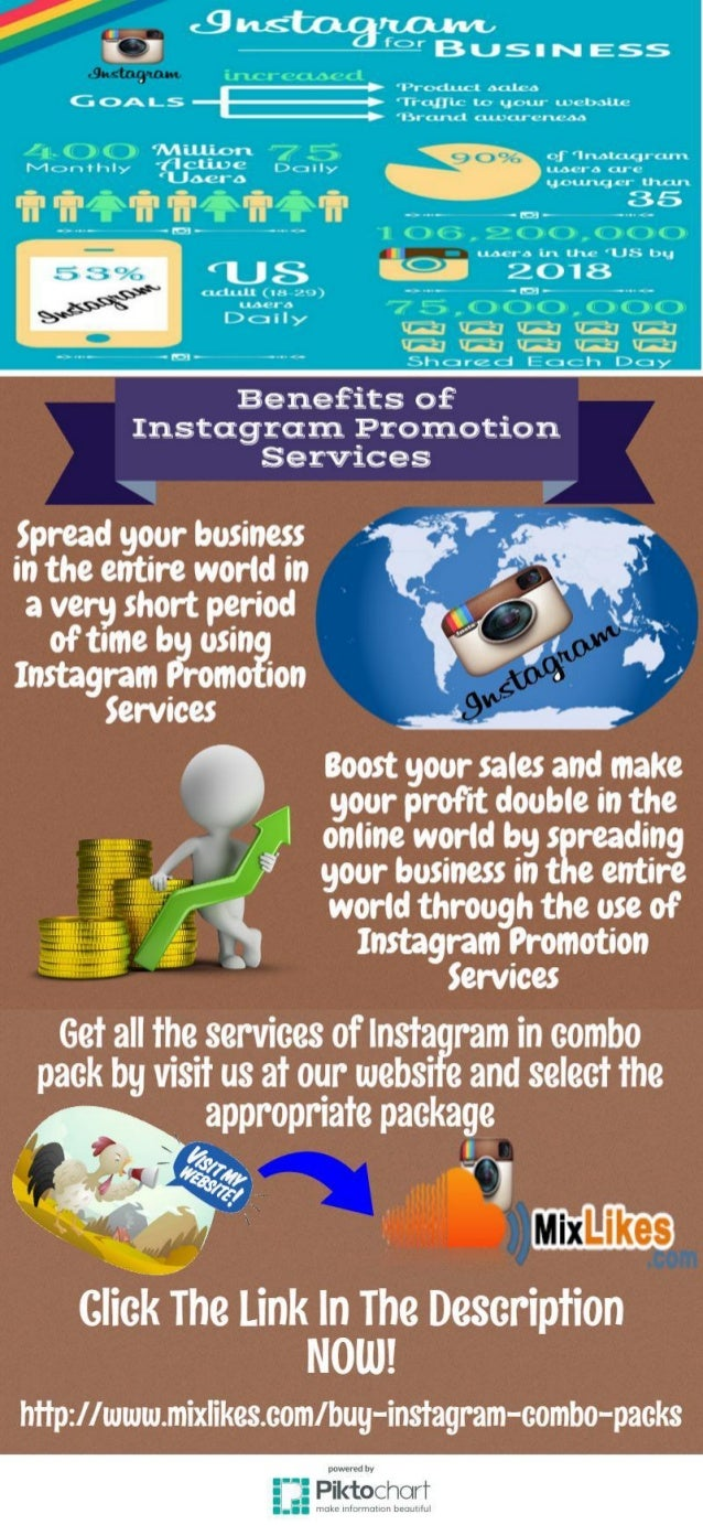 Instagram Promotion Services - Mixlikes