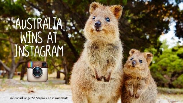 australia  wins at  instagram  @elisaparkranger 56,584 likes 5,055 comments