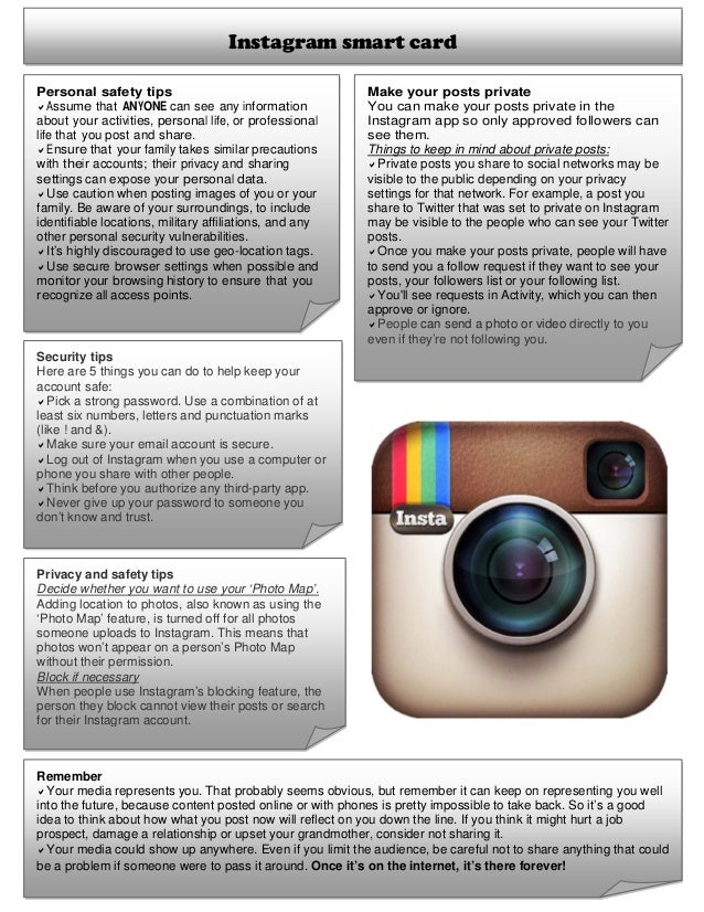 Is instagram safe to use