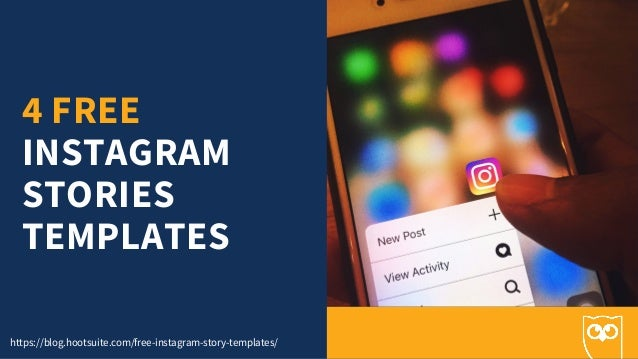 4 Free Instagram Stories Templates