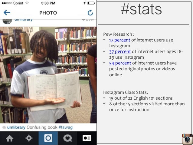 #stats Pew Research : • 17 percent of internet users use Instagram • 37 percent of internet users ages 18- 29 use Instagra...
