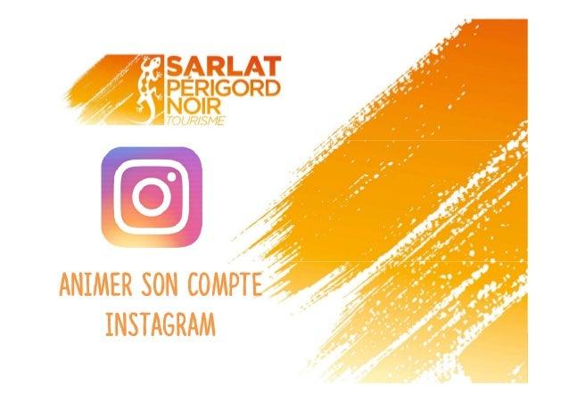 Animer son compte instagram