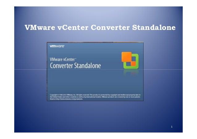 VMware vCenter Converter Standalone 1
