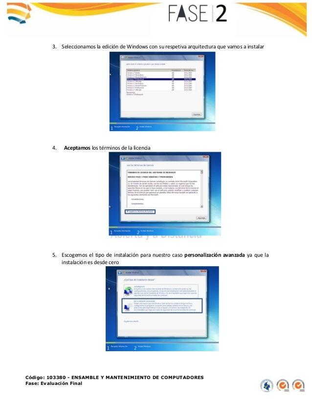 Instalación de arranque dual en una pc Slide 2