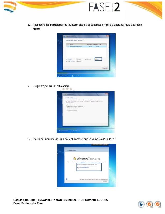 Instalación de arranque dual en una pc Slide 3