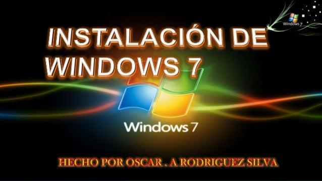 Veremos una barra de progresoque muestra la carga de losarchivos de Windows 7 necesariospara su instalación: