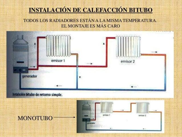 instalacion calefaccion