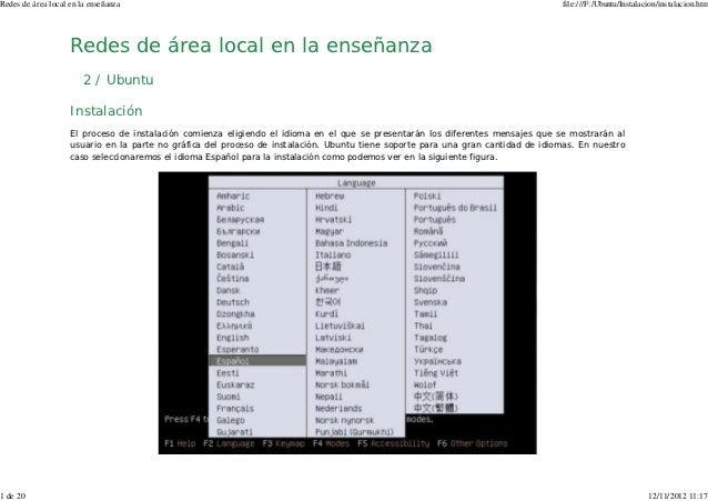 Redes de área local en la enseñanza                                                                                       ...