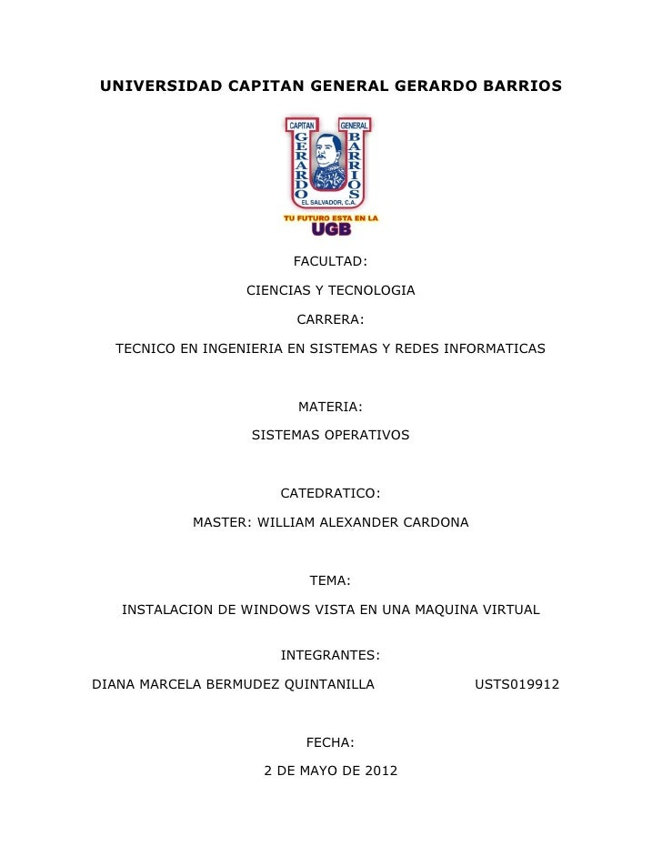UNIVERSIDAD CAPITAN GENERAL GERARDO BARRIOS                        FACULTAD:                  CIENCIAS Y TECNOLOGIA       ...