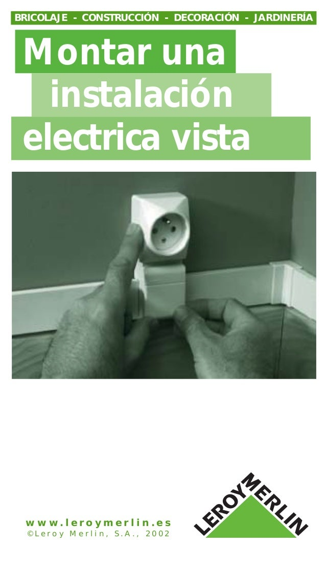 Instalacion electrica vista - Instalacion electrica vista ...