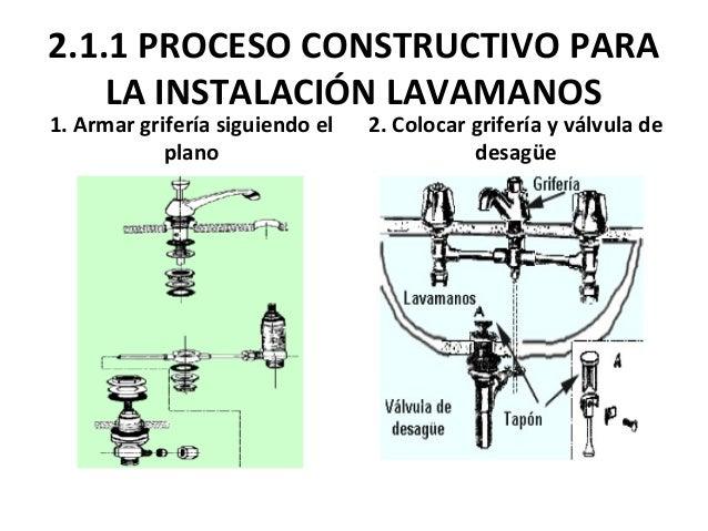 Instalaciones for Precio de griferia para lavamanos