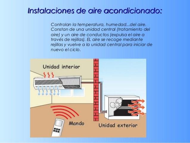 InstalacionesInstalaciones audiovisuales:audiovisuales: Las viviendas modernas, tienen acceso a las TIC. Además de señales...