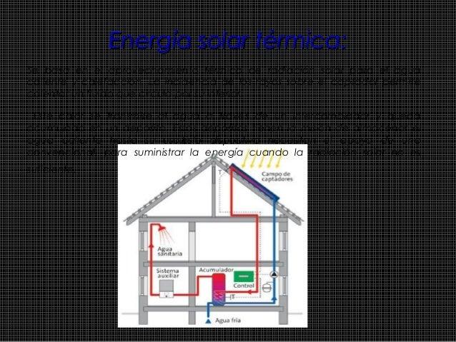 Energía solar fotovoltaica:Energía solar fotovoltaica: Se basa en la obtención de energía eléctrica a partir de la radiaci...