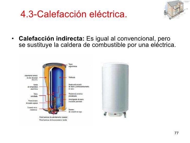 Instalaciones en viviendas y edificios - Calefaccion central electrica ...