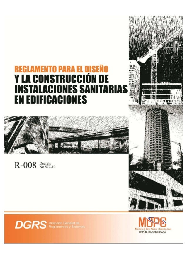 REGLAMENTO GENERAL DE EDIFICACIONES          UNIDAD 7     Sistemas SanitariosReglamento para el Diseño y laConstrucción de...