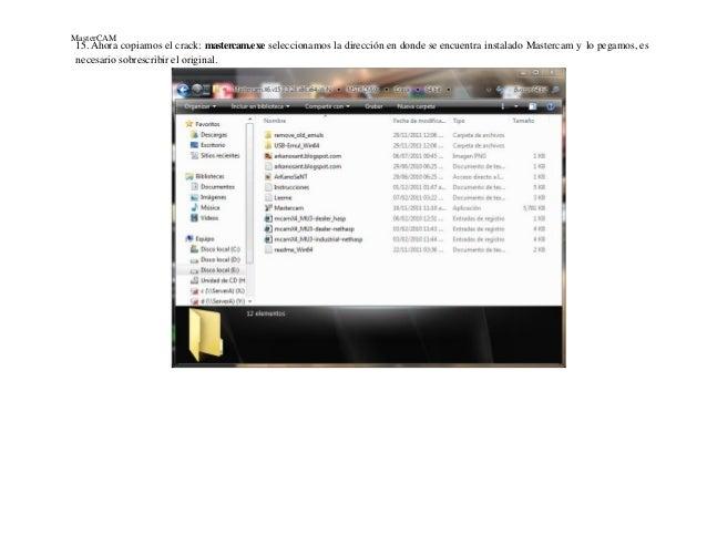 mastercam x6 hasp crack