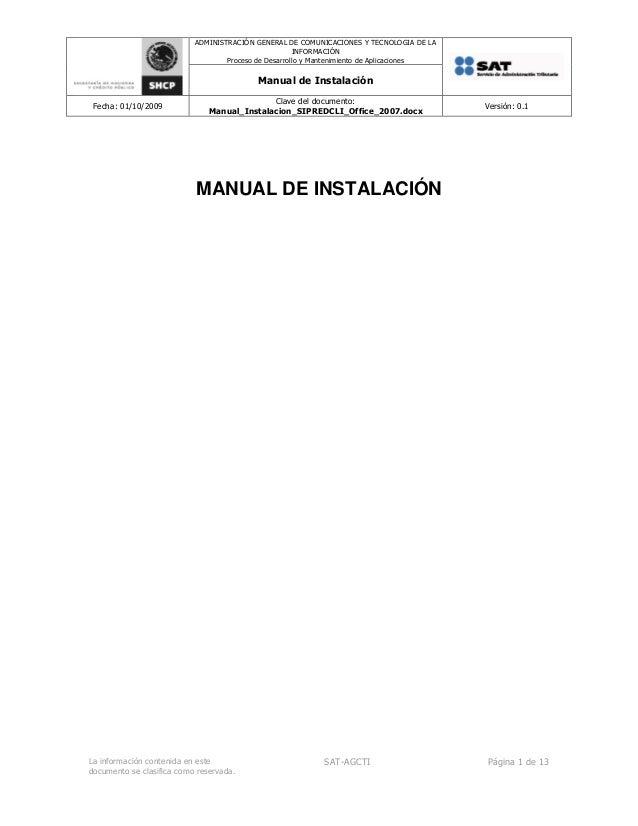 ADMINISTRACIÓN GENERAL DE COMUNICACIONES Y TECNOLOGIA DE LAINFORMACIÓNProceso de Desarrollo y Mantenimiento de Aplicacione...