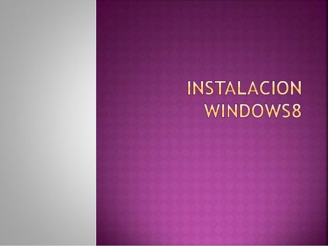 Si cumplimos los requisitos de instalación de Windows 8, entonces podremos empezar a instalar o actualizar el sistema oper...