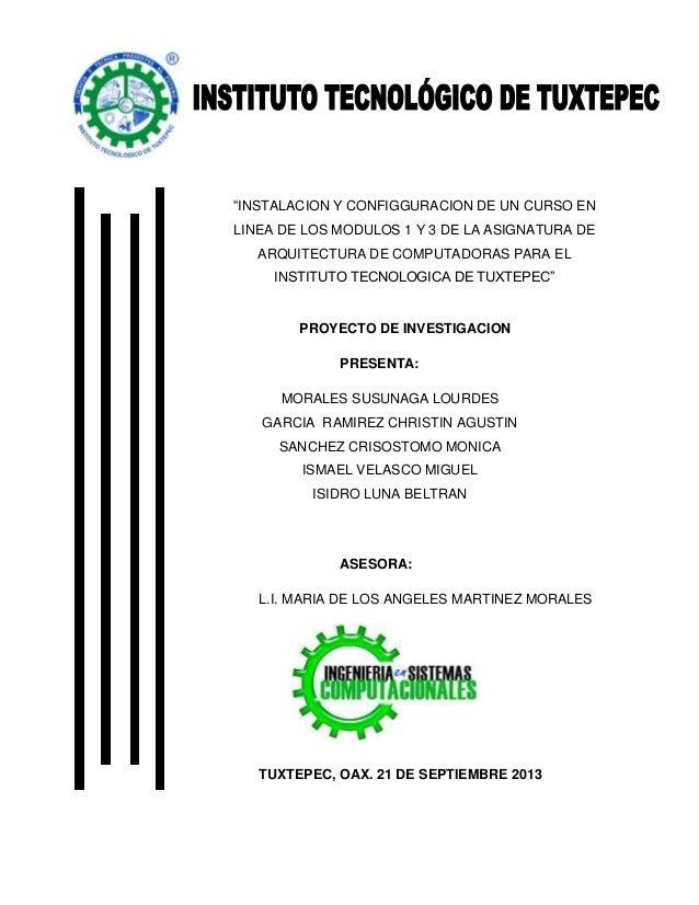 PROYECTO DE INVESTIGACION PRESENTA: MORALES SUSUNAGA LOURDES GARCIA RAMIREZ CHRISTIN AGUSTIN SANCHEZ CRISOSTOMO MONICA ISM...