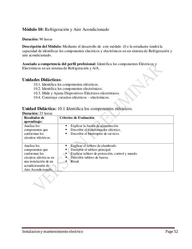 Instalacion y mantenimiento electrico for Ejemplo de presupuesto instalacion geotermica chalet