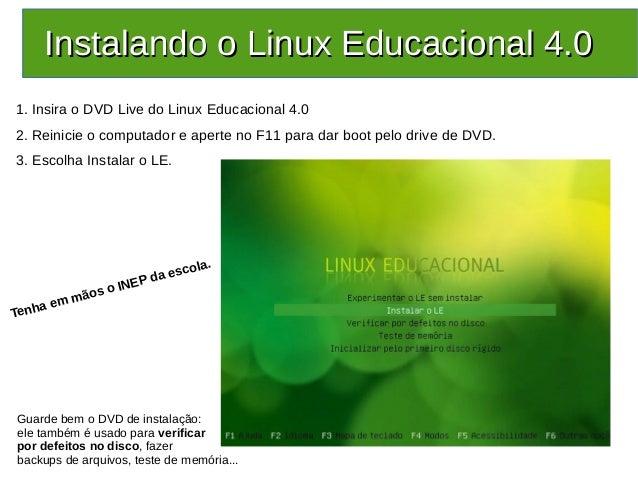 EDUCACIONAL OPERACIONAL 4.0 SISTEMA LINUX BAIXAR