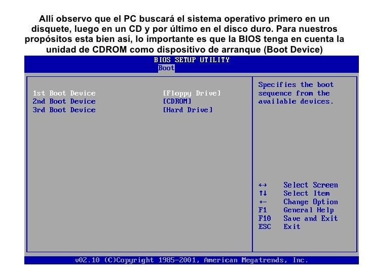 Instalando Windows Xp Desde Un Cd De Arranque