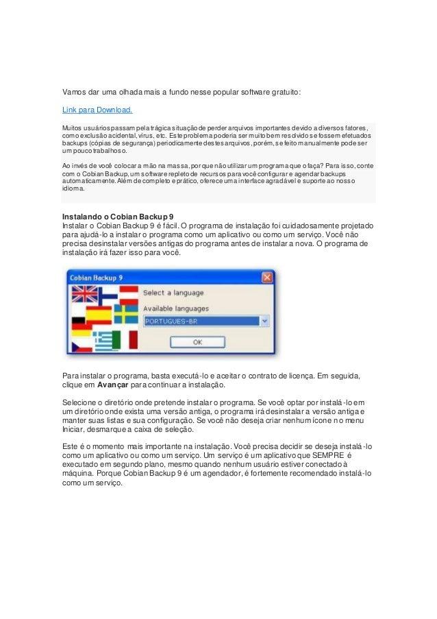 Vamos dar uma olhada mais a fundo nesse popular software gratuito: Link para Download. Muitos usuários passam pela trágica...