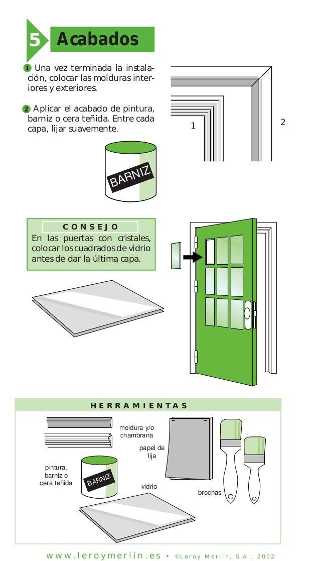 Como colocar una puerta de interior como colocar una for Como cambiar una puerta de interior