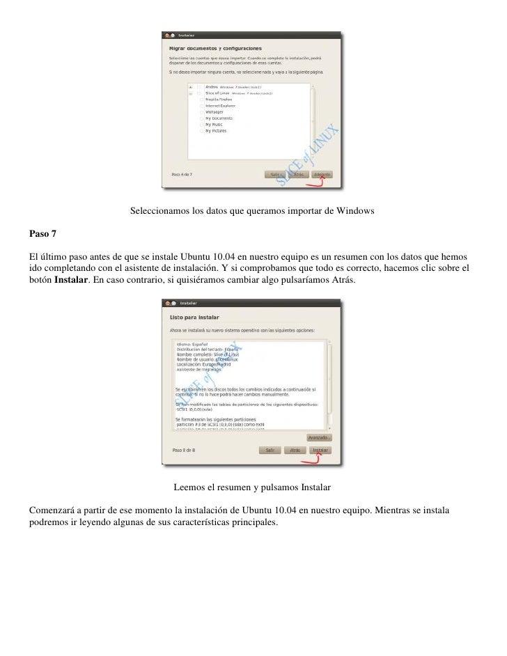 Instalación de Ubuntu 10.04 on