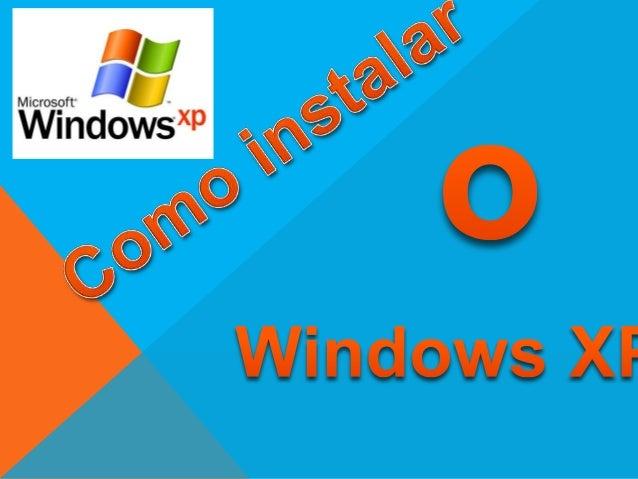 1- Verificar a Memória RAM do computador: Se tivermenos de 1 G instalar o Windows XP (como aqui vamosdemonstrar), se tiver...