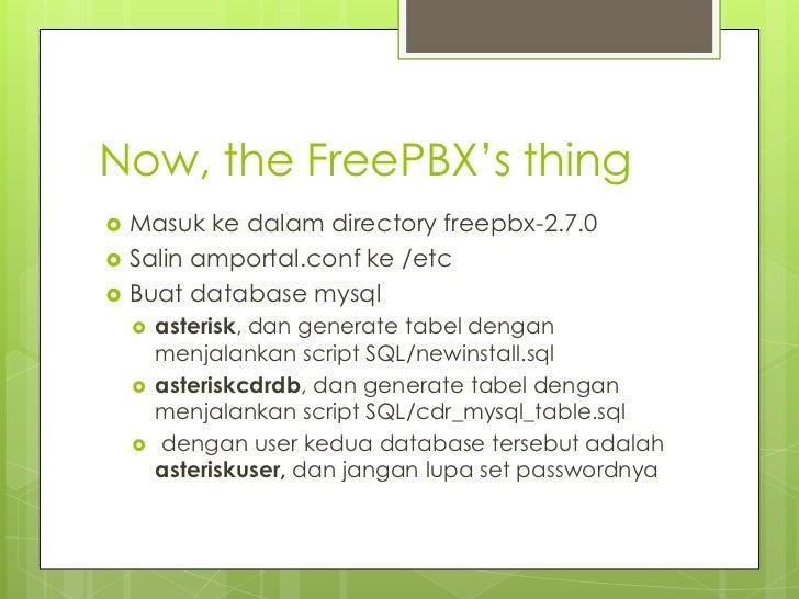 Instalasi Asterisk dan FreePBX di Ubuntu Server 10 04 LTS