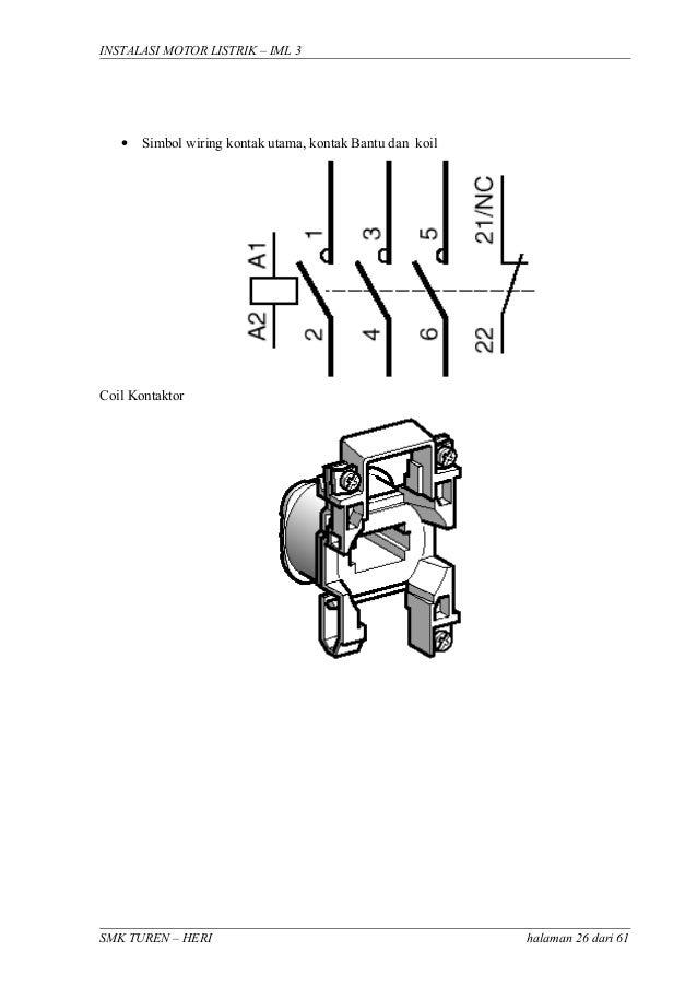 Instalasi Motor 3 Fasa