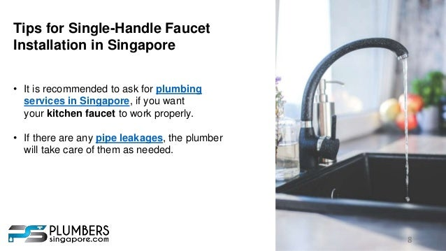 8. 8 Tips For Single Handle Faucet Installation ...