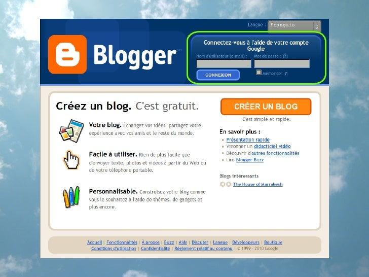 Créer un Blogger-Blog
