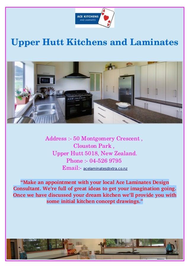 UpperHuttKitchensandLaminates Address:50MontgomeryCrescent, CloustonPark, UpperHutt5018,NewZealand. Phon...