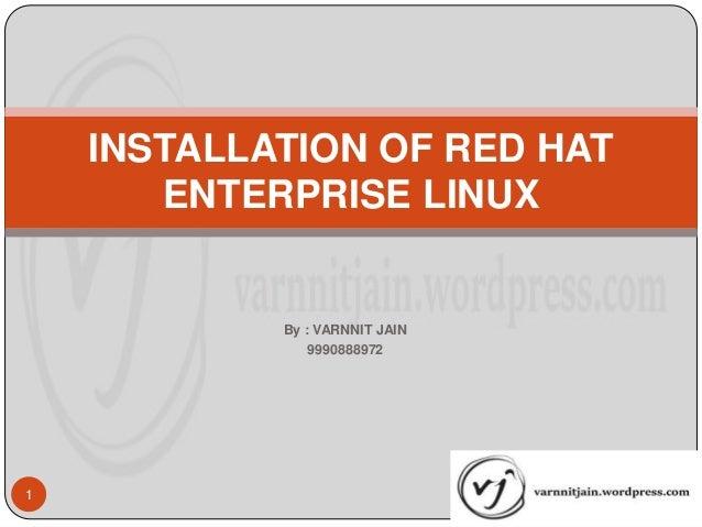 Installation guide for Red Hat Enterprise Linux 6