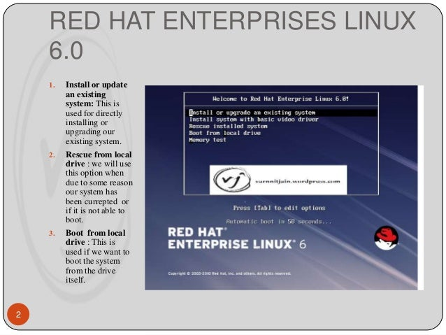 Installation guide for Red Hat Enterprise Linux 6