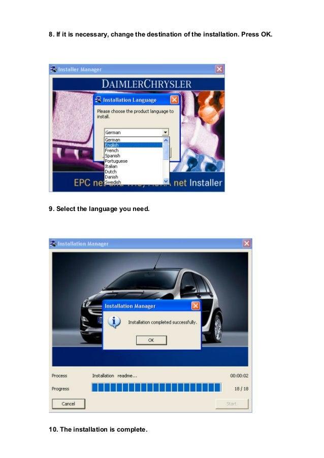 Mercedes Benz MB STAR WIS EPC software installation