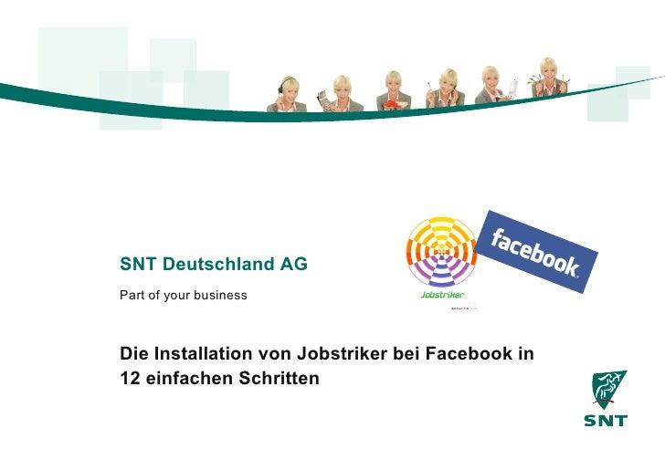Die Installation von Jobstriker bei Facebook in 12 einfachen Schritten