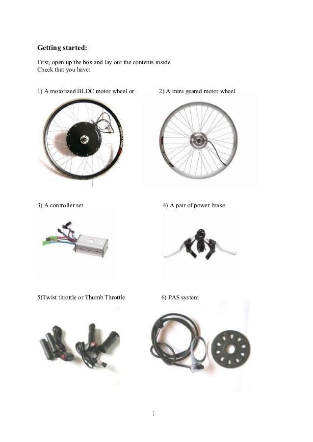 Installation user manual