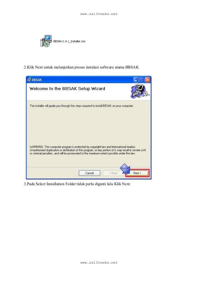 Install black berry denga software bbsak + all language, termasuk indonesia Slide 2