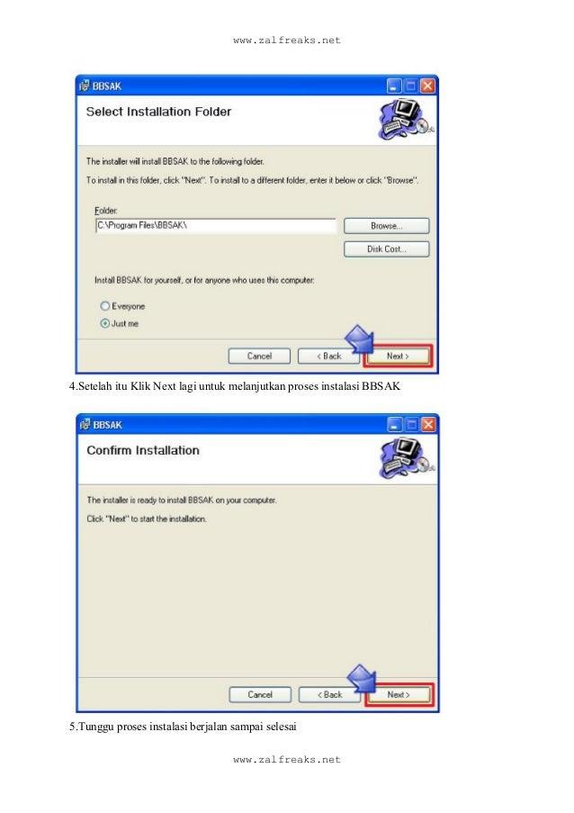 Install black berry denga software bbsak + all language, termasuk indonesia Slide 3