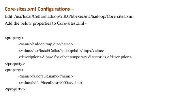 install hadoop 3.1 on mac
